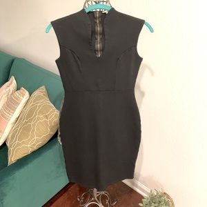 Black bodycon sleeveless dress by Rolla Coster